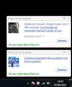 Download Chrome addon to Get Facebook Current Notifications On Desktop