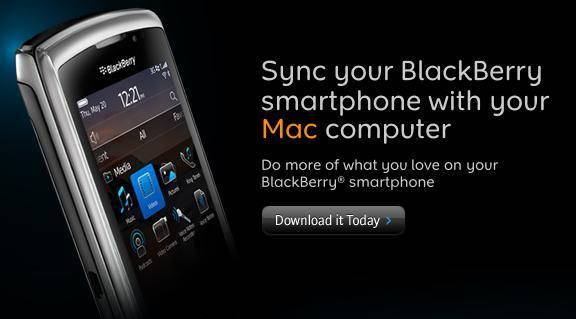 BlackBerry Desktop Software for MacOS Version 2.2.0.17 Upgrade