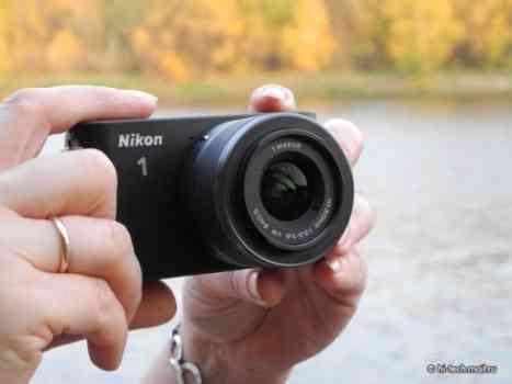 Fastest camera in the world: Nikon 1 J1