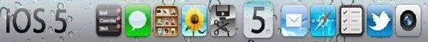 Enjoy iOS 5 Interface on Windows 7 -Free Download Skin-1