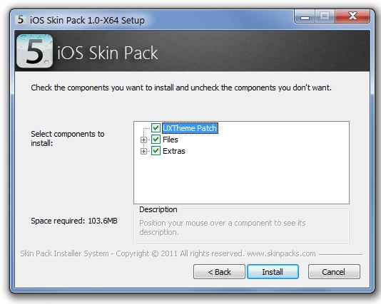 Enjoy iOS 5 Interface on Windows 7 -Free Download Skin-3
