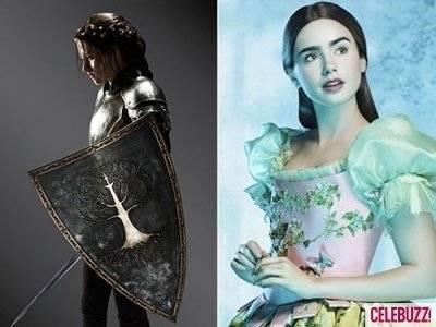 Kristen Stewart Vs Lily Collins  as Snow White