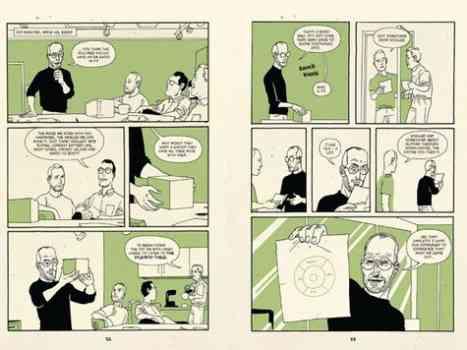 Steve Jobs Soon As a Comic Hero