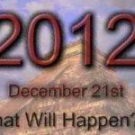 What Will Happen in 2012?