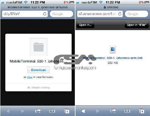 Installer Mobile Terminal Iphone Sans Cydia - vegalolynx