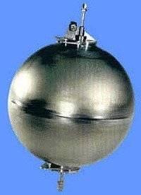 mysterious large metallic ball