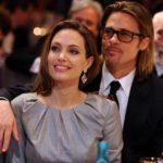 Beautiful Angelina Jolie with Longtime Lover Brad Pitt