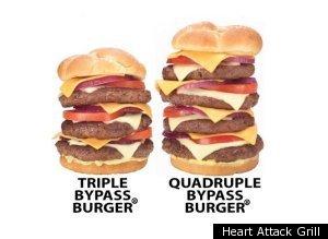 Heart Attack Grill customer has heart attack -Burger