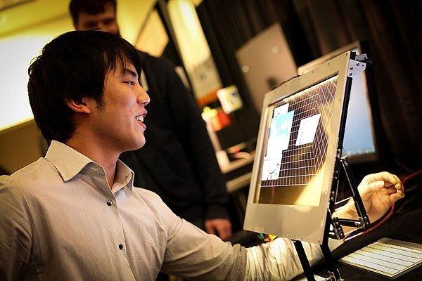 Microsoft Kinect 3D Desktop Holoflector Augmented Reality Mirror