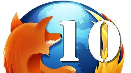 Mozilla Announces Firefox 10 (Download)