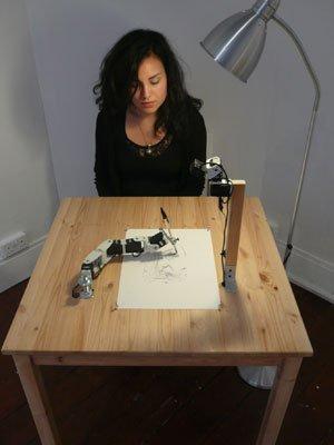 Scientist Creates Robot Artist Who Draws Portraits -main