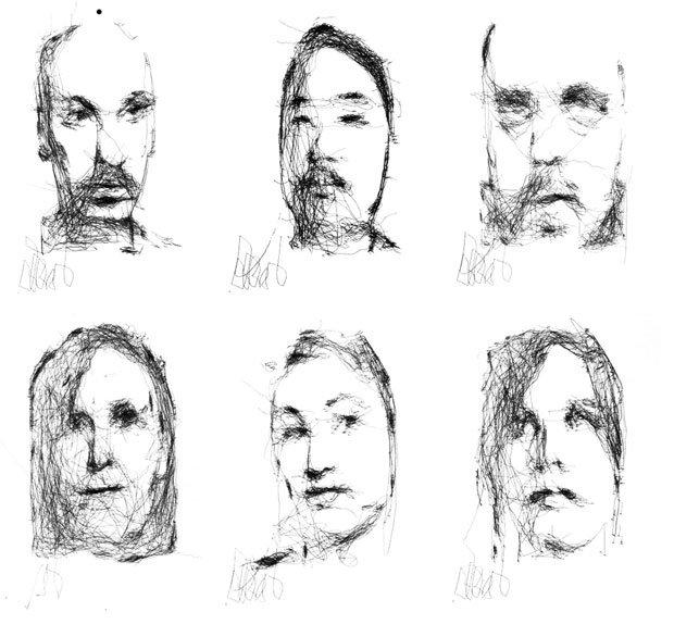 Scientist Creates Robot Artist Who Draws Portraits