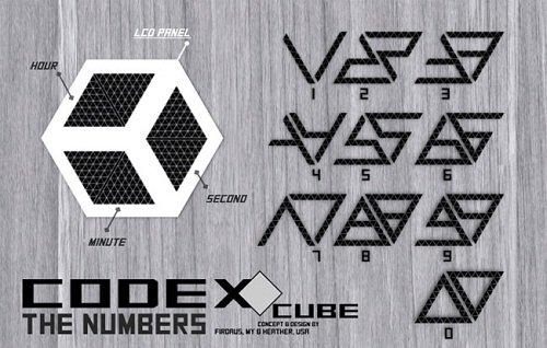 Codex LCD Cube