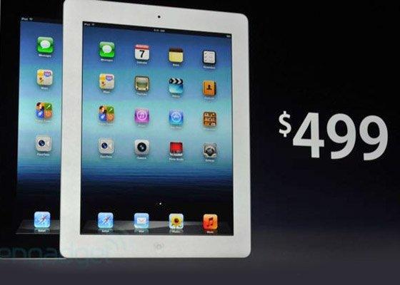 New iPad -Price