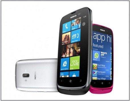 Nokia Lumia 610 as wifi hotspot