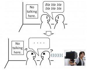 """SpeechJammer: Develop a """"Shut-Up Gun"""" that Makes it Impossible to Speak! 1"""