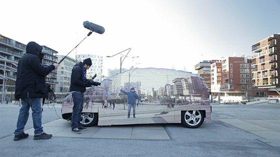 WAO! Mercedes Has Made Transparent Car (Video) 2