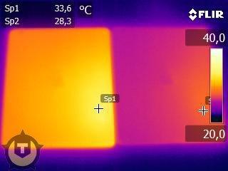 temperature of the new iPad