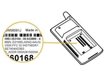 Database of Stolen Phones