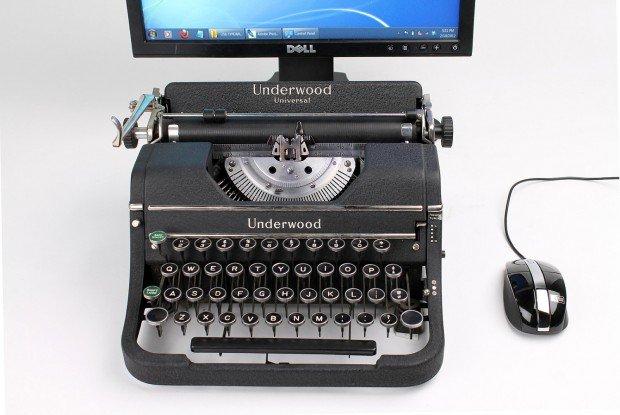 antique typewriters as computer keyboards -1
