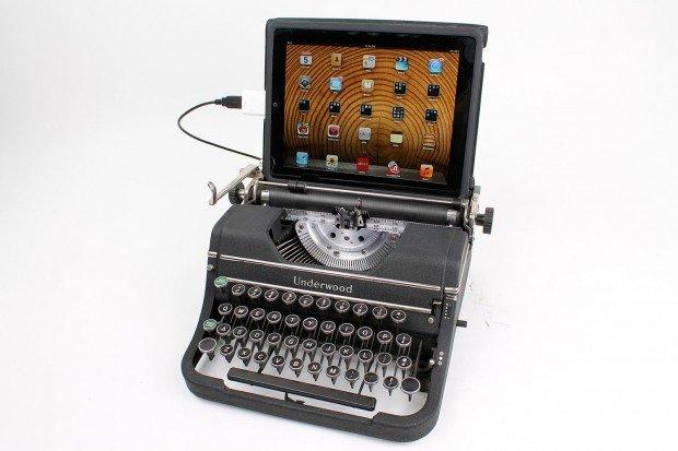 antique typewriters as computer keyboards -2