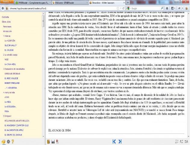 EPUB Reader Turns Firefox Into an eBook Reader 1