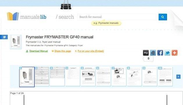 Find Online Manuals on ManualsLib 2