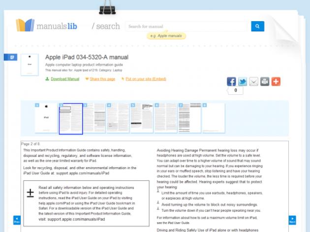 Find Online Manuals on ManualsLib 4