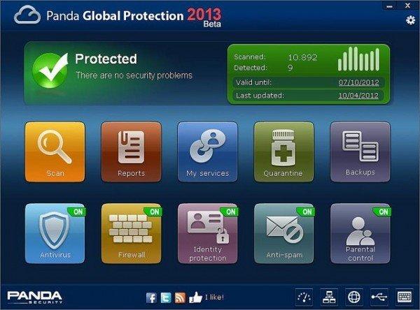 Panda Global Protection 2013 2