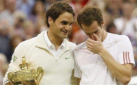 Wimbledon 2012 Final Federer Leads Murray! 2