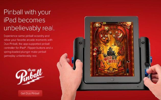 Duo Pinball, Accessory to Play Pinball on the iPad 2