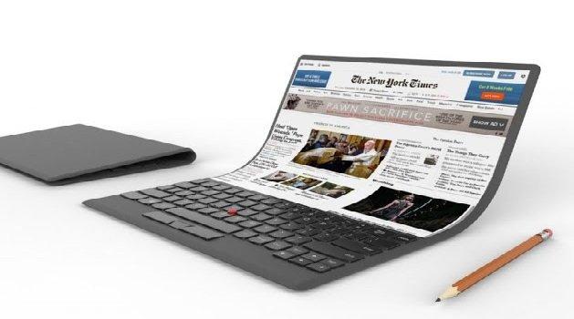 Samsung Folding laptop