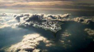 The City - Hidden in Clouds. 1