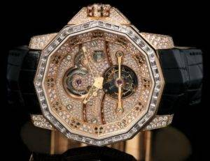 Watch Fully Set With Diamonds By Corum Admiral