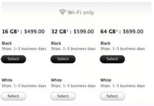 Apple's iPad 2 Shipping Time is Reduced From Weeks to 1-3 Days.