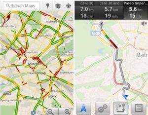Google Maps brings live traffic info to 13 European countries