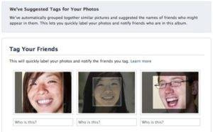 Facebook ads Teaching Users How to Disable The Facial Recognition