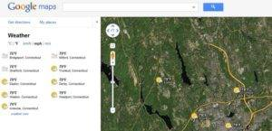 A New 'Weather Layer' Added in Google Maps 4