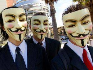 Anonymous Cluster Attack US Govt Cyber Supplier. 1