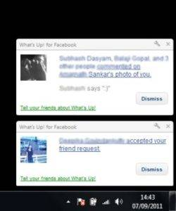 Download Chrome addon to Get Facebook Current Notifications On Desktop