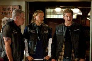 FX Channel 'Sons of Anarchy Season 4' on Air