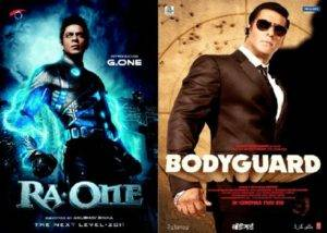 Khan Vs Khan Did Ra.One Can Beat Body Guard