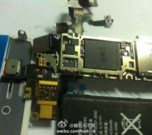 Naked Pictures of iPhone 5 with Apple A5 Processor Exposed