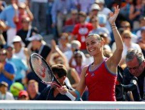 Pennetta Defeats Maria Sharapova at the U.S. Open