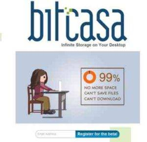 Bitcasa Introduces Infinite Disk Space in the Internet Cloud
