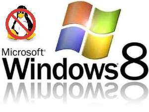 Dual boot with Windows and Linux 8 not possible