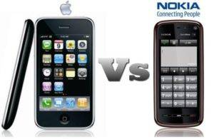 iPhone beats Nokia 1