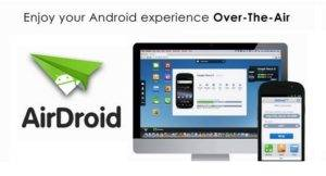 AirDroid App to Control your Android Phone from a Computer via WiFi