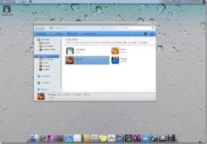 Enjoy iOS 5 Interface on Windows 7 -Free Download Skin