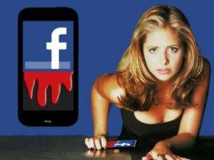 "Facebook Smartphone ""Buffy"" Break the Silence"